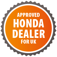 Approved Honda Dealer for the UK