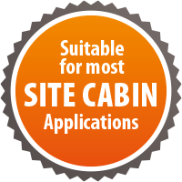 suitable for most cabin application
