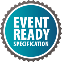 Event Ready spcification badge