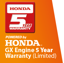 Honda 5 year warranty