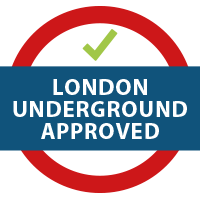 london Underground Approved badge