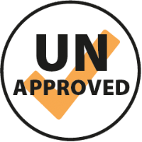 UN Approved badge