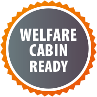 Welfare Cabin Ready spcification badge