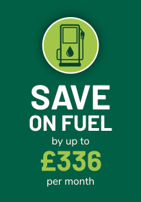 Save on fuel by upto £336 per month*