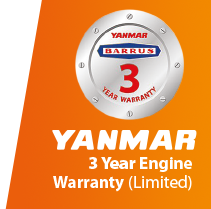 Yanmar 3 year warranty